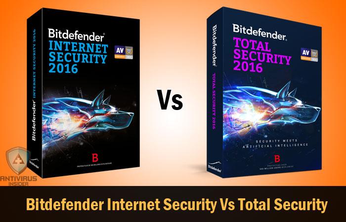Bitdefender Internet Security Vs Bitdefender Total Security