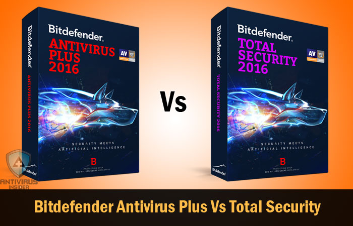 Bitdefender Antivirus Plus Vs Total Security