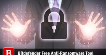Bitdefender Free Anti-Ransomware Tool