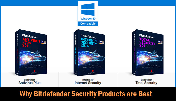 Why Bitdefender Security Products are Best