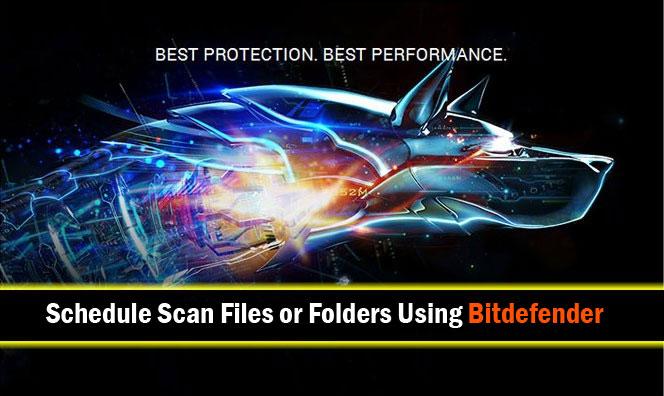 Scan Using Bitdefender