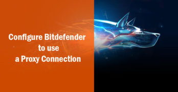 bitdefender proxy connection