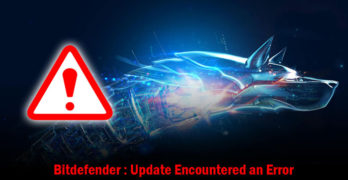 Bitdefender Update Encountered an Error