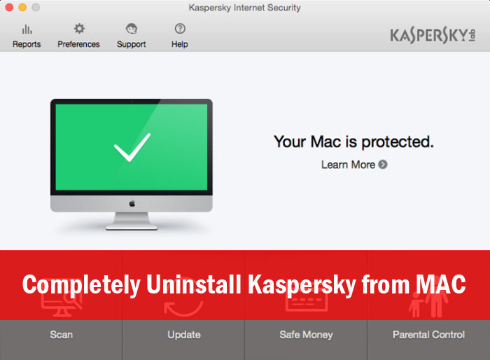 Uninstall Kaspersky from MAC