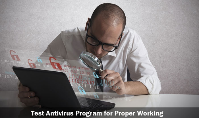 Test your Antivirus Program for Proper Working