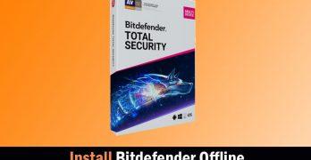 Bitdefender Offline Installer Kit